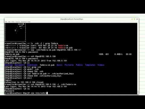 Настройка доступа по ssh (обновленная версия)