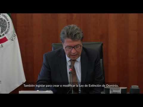 Agenda legislativa del Senado en la LXIV Legislatura