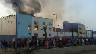 التفاصيل الكاملة وراء الحريق المهول  وموت 4 اشخاص