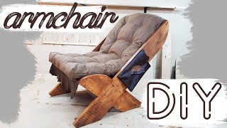 CHAIR DIY Furniture Manufacturing Process ARMCHAIR do it yourself