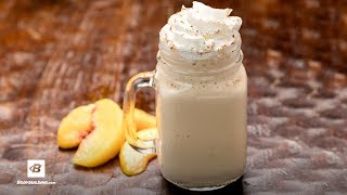 Peach Cobbler Smoothie Treat | Fuel & Gainz by Fit Men Cook