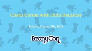 Chaos Corner with John DeLancie