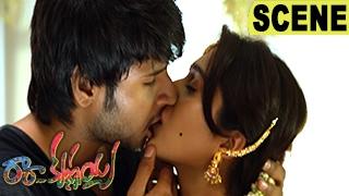 Sundeep Kishan And Regina Lip-Lock Scene - Romantic Love Scene - Ra Ra Krishnayya Movie Scenes