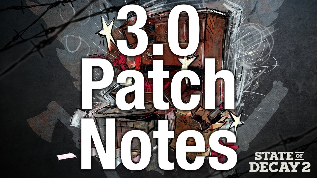 State of Decay 2 Drops Content Update 3 0 with Patch Notes
