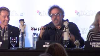 INTERVIEW: Tim Burton on wanting to become a scientist wh...