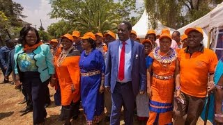 Raila receives more defectors from Jubilee