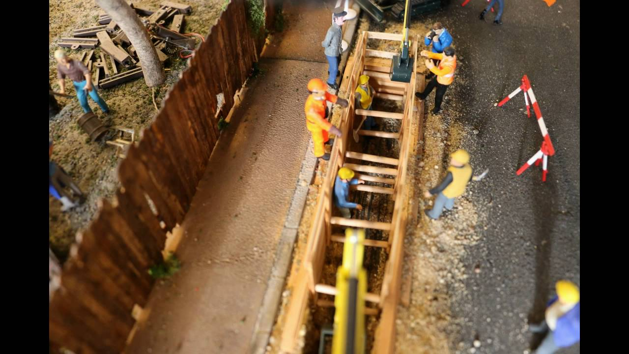 Make And Model >> Baustelle Spur 1 | Gauge 1 Construction site Modelrailway - YouTube