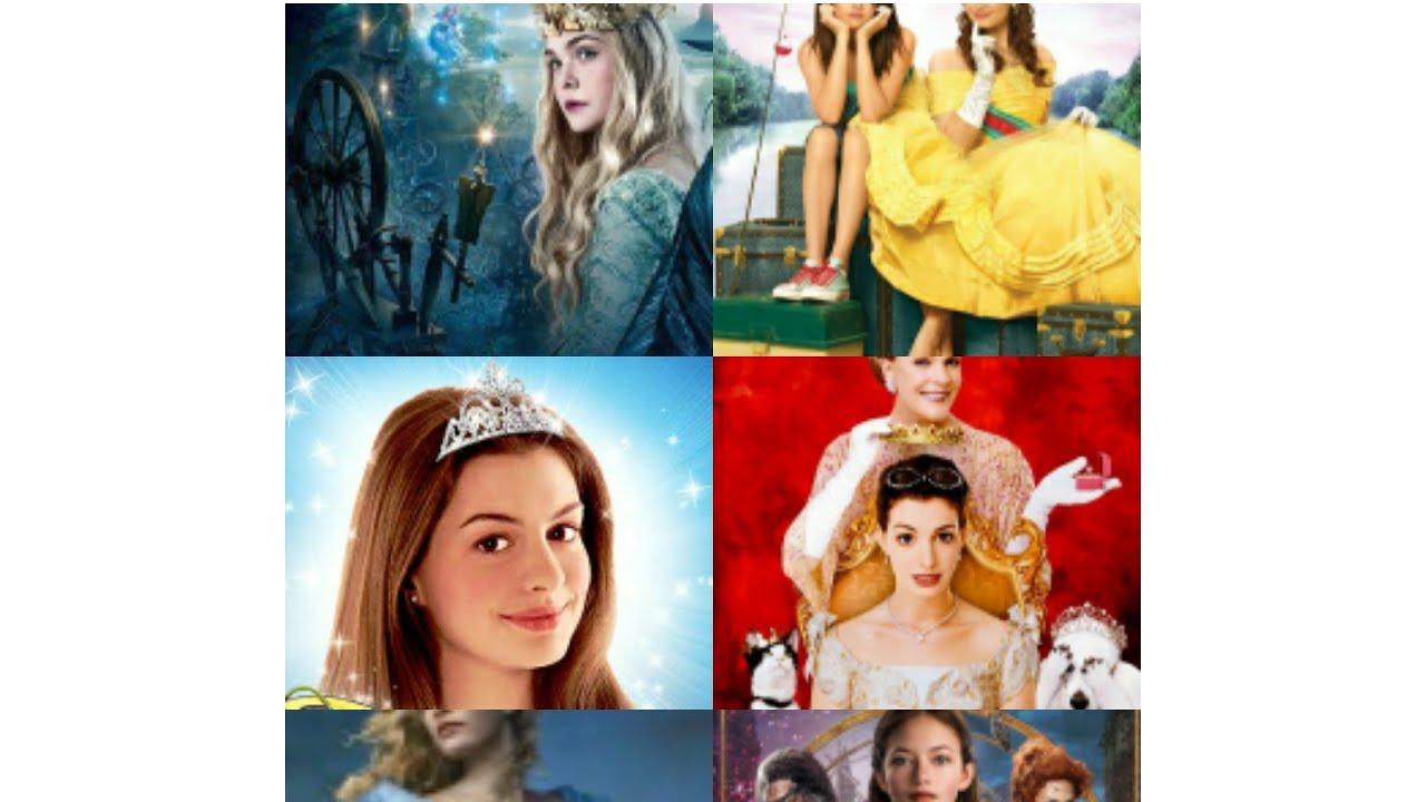 Best Disney Non Animated Princess Movies Youtube