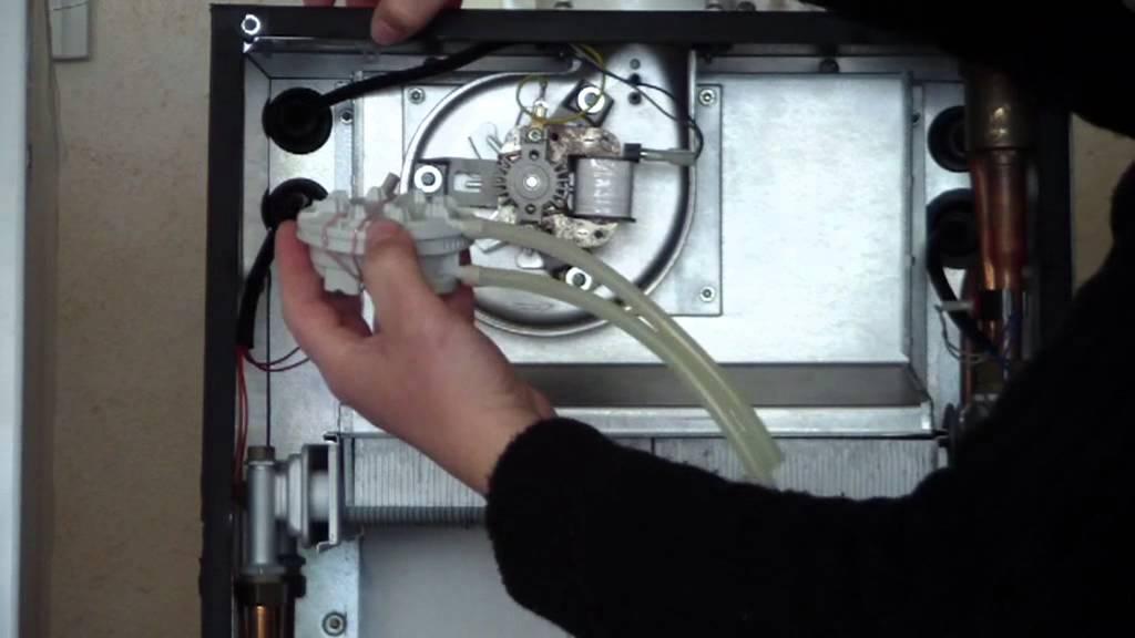 Limpieza de la caldera de gas