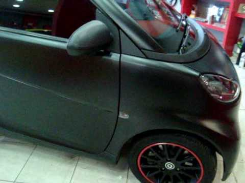 Black Matte Cars Greece The Smart Project 0001 Youtube