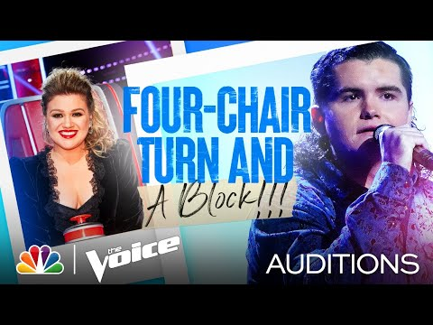 "Kenzie Wheeler's Four-Chair Turn Performance: ""Don't Close Your Eyes"" - Voice Blind Auditions 2021 - The Voice"