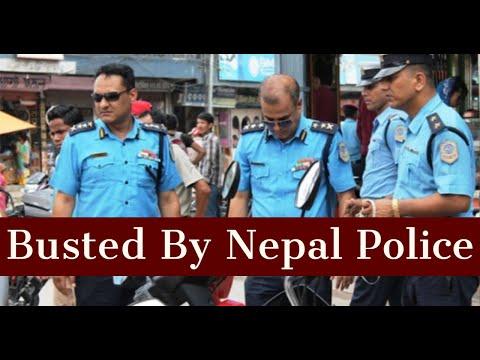 Caught By Nepal Police   Traffic Police   Bhansar/Visa Expire   1st International Ride   Delhi-Nepal
