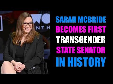 Sarah McBride Becomes First Openly Trans Senator