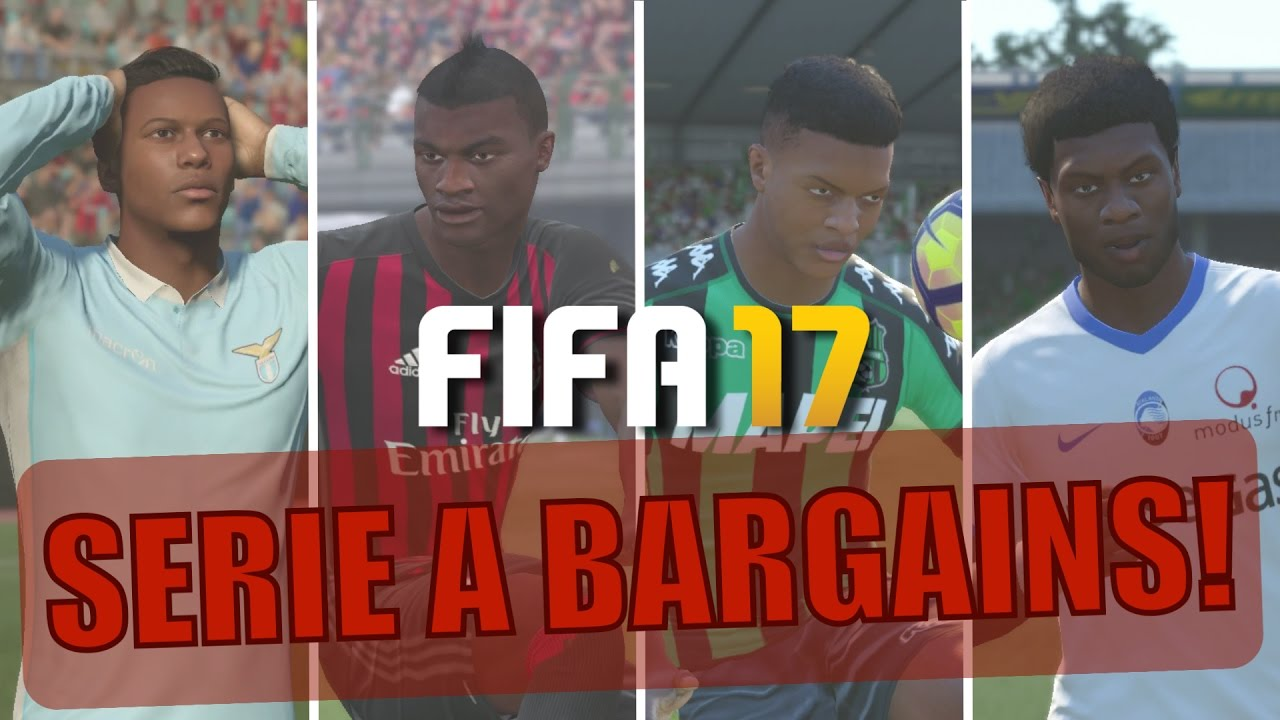 TOP 20 SERIE A BARGAINS | FIFA 17 Career Mode