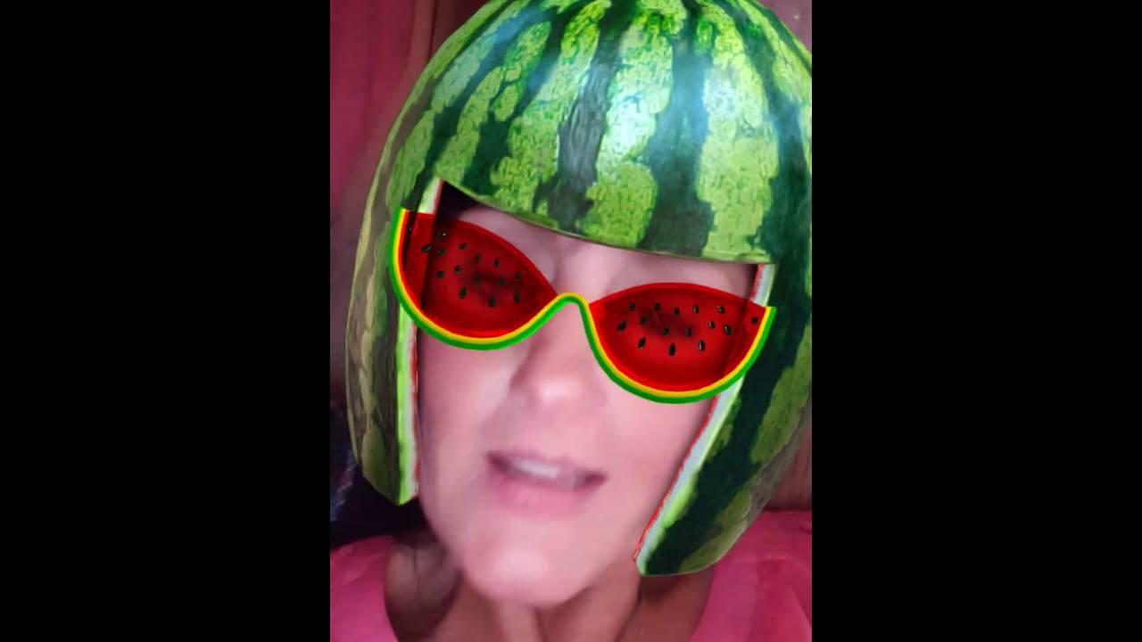 New watermelon helmet hat style - YouTube 069f66b2f70