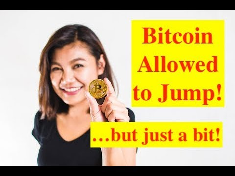 Bitcoin Allowed To Jump As