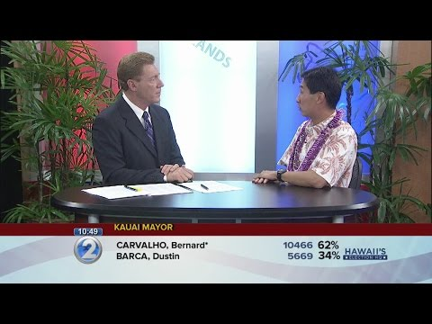 Charles Djou discusses the election