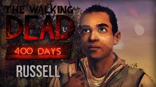 HELEMAAL ALLEEN! - The Walking Dead: 400 DAYS - Part 1 (RUSSELL)