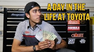 A DAY IN THE LIFE AS A TOYOTA TECHNICIAN (Tips)