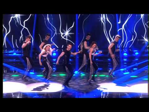 "The Voice of Ireland Coaches & Prodijig perform ""Lets Dance"""