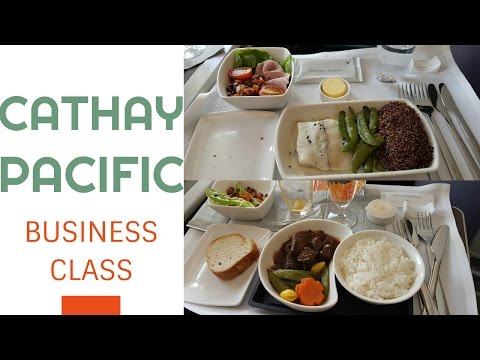 TRIP REPORT Cathay Pacific BUSINESS CLASS A330