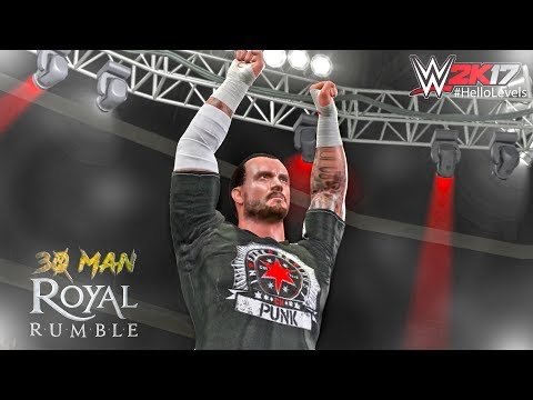 WWE 2K17 30 MAN ROYAL RUMBLE And CM PUNK Is BACK With BATISTA And More