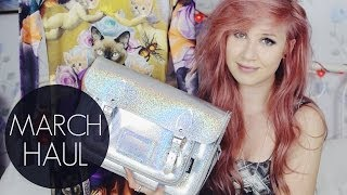 March Collective Haul // Drop Dead, Gypsy Warrior, Wildfox, Zatchels etc. Thumbnail