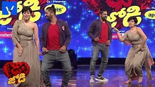 SekharMaster and Shamna kasim (Poorna) Dance Performance Promo - DheeJodi Promo - 19th December 2018