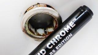 Jak odnowić elementy chromowane? pisak do chromowania, chromowanie dekoracyjne, naprawa chromów