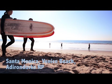 A journey in North America - Santa Monica, Venice Beach, Adirondacks