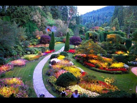 Buchart Botanical Garden | Victoria BC