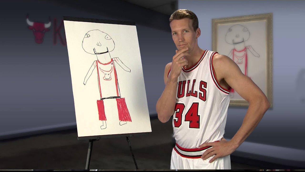 Chicago Bulls Kid Picasso #1 (14-15)