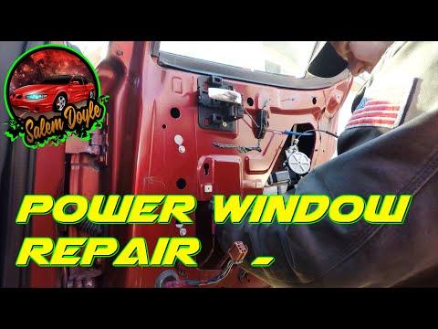 How To Replace A Power Window Regulator – 2005 Pontiac Grand Prix