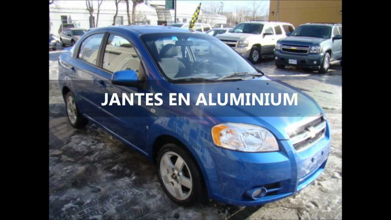 chevrolet aveo lt 2007 vendre auto occasion laval montreal qu bec www autoarcade ca youtube. Black Bedroom Furniture Sets. Home Design Ideas