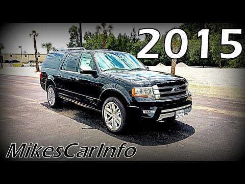 2015 Ford Expedition Platinum EL 4WD | Twin Turbo!