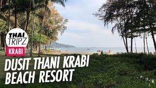 Dusit Thani Krabi Beach Resort - Walkaround - Thailand