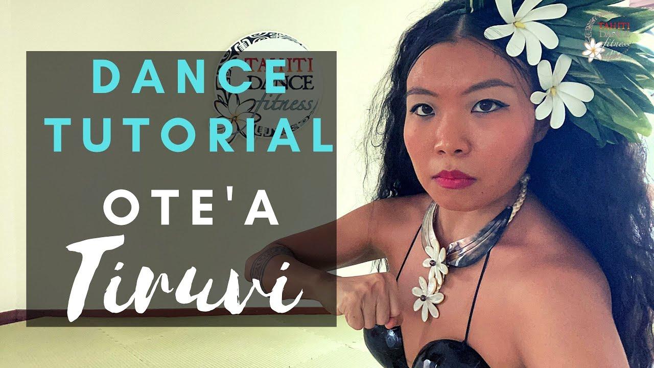 WARRIOR Dance Tutorial - OTE'A Tiruvi