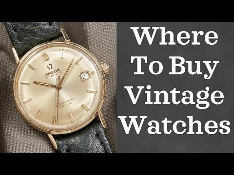 Where to Buy Vintage Watches (2018) | 10 Online Vintage Watch Shops