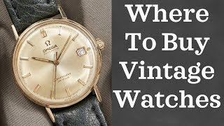 Where to Buy Vintage Watches (2018)   10 Online Vintage Watch Shops