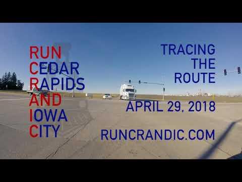 RUN CRANDIC Marathon Route