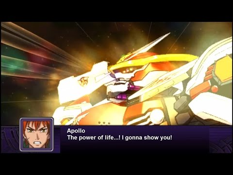 Super Robot Wars Z2: Hakai Hen - Solar Aquarion All Attacks (English Subs)