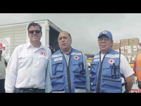 Cruz Roja ingresa ayuda a Venezuela  Causas incendio en Catedral
