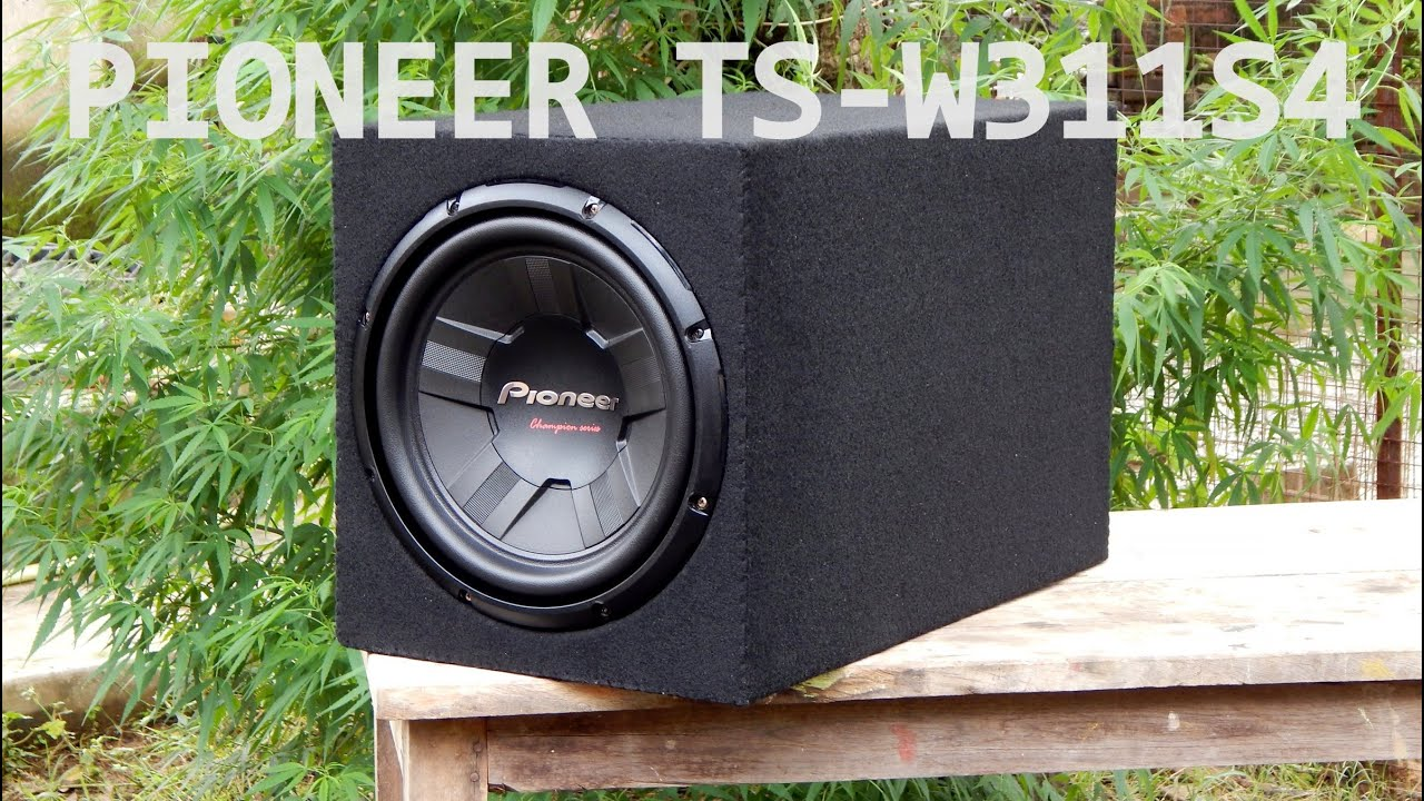 Pioneer TS-W311S4 Subwoofer