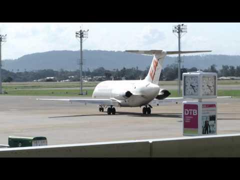 FlySAX DC-9-14 Taxi & Takeoff