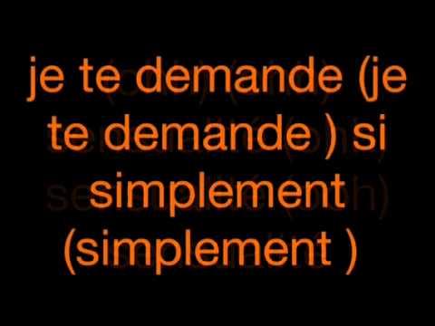 Sensualité lyrics
