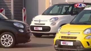 Fiat 500L Trekking-- road test by SAT TV Show 27.04.2014