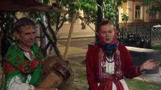Смотреть видео Russia, today, 22.08.2018, Moscow, Бульварное кольцо, Москва, фестиваль, времена и эпохи, шарманка онлайн