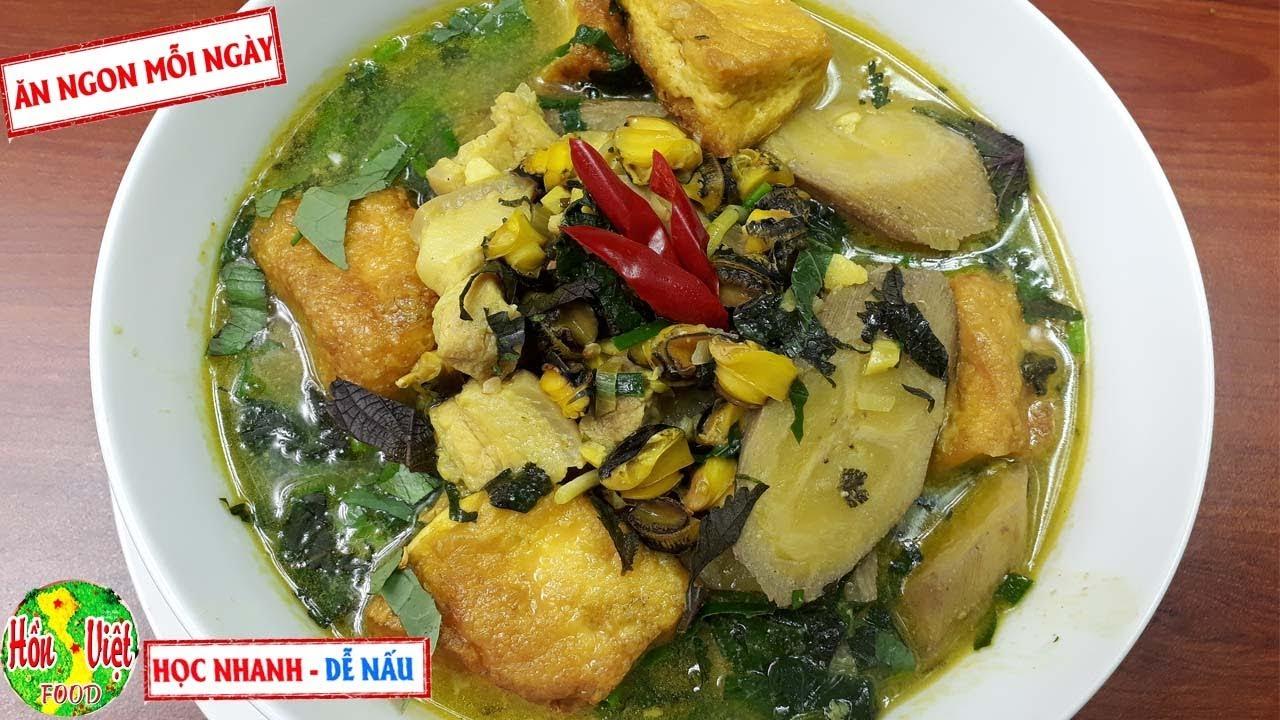 ✅ Công Thức Gia Truyền ỐC NẤU CHUỐI ĐẬU Ngon Nhất | Hồn Việt Food