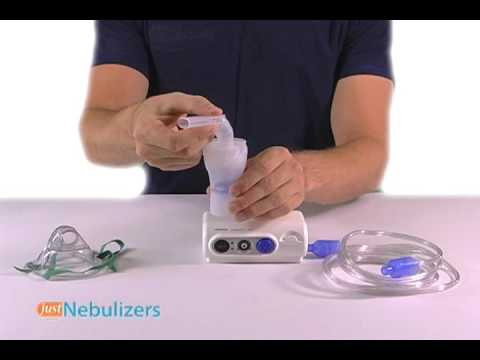 Just Nebulizers: OMRON CompAir Elite Nebulizer System NE-C30