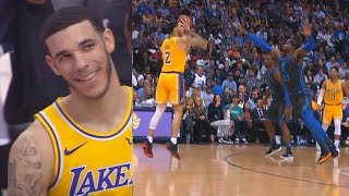 Lonzo Ball Carries Entire Lakers With Brandon Ingram In Duel With Luka Doncic! Lakers vs Mavericks thumbnail